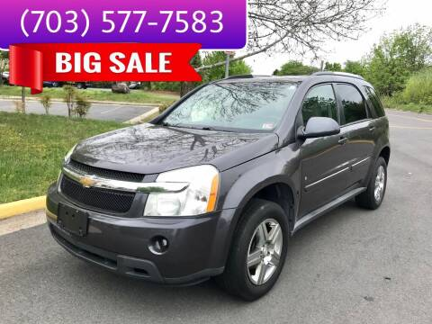 2008 Chevrolet Equinox for sale at Dreams Auto Group LLC in Sterling VA