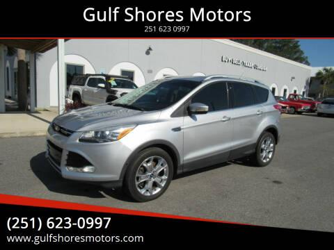 2014 Ford Escape for sale at Gulf Shores Motors in Gulf Shores AL