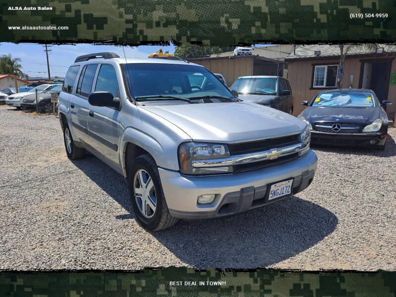 2005 Chevrolet TrailBlazer EXT for sale at ALSA Auto Sales in El Cajon CA
