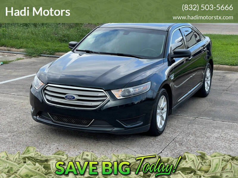 2015 Ford Taurus for sale at Hadi Motors in Houston TX