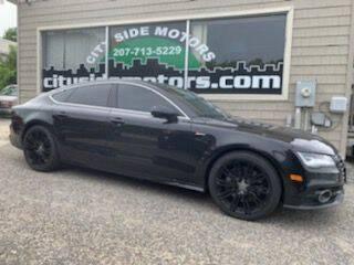 2012 Audi A7 for sale at CITY SIDE MOTORS in Auburn ME