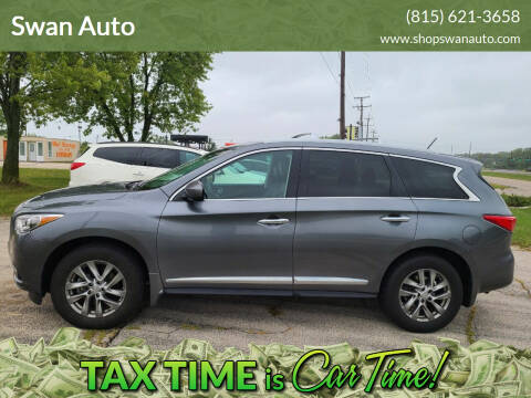 2015 Infiniti QX60 for sale at Swan Auto in Roscoe IL