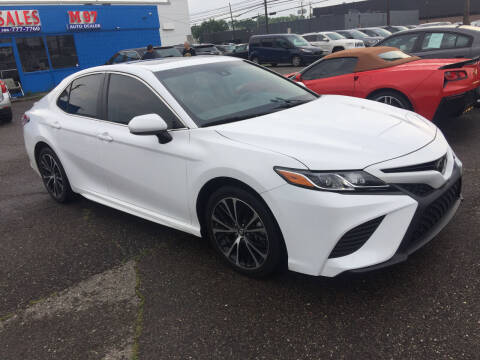 2018 Toyota Camry for sale at M-97 Auto Dealer in Roseville MI