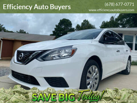 2017 Nissan Sentra for sale at Efficiency Auto Buyers in Milton GA