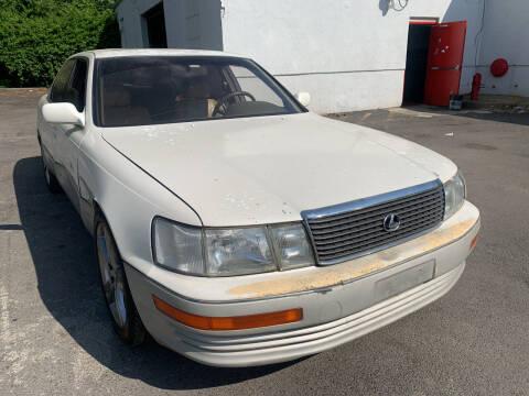 1993 Lexus LS 400 for sale at JerseyMotorsInc.com in Teterboro NJ