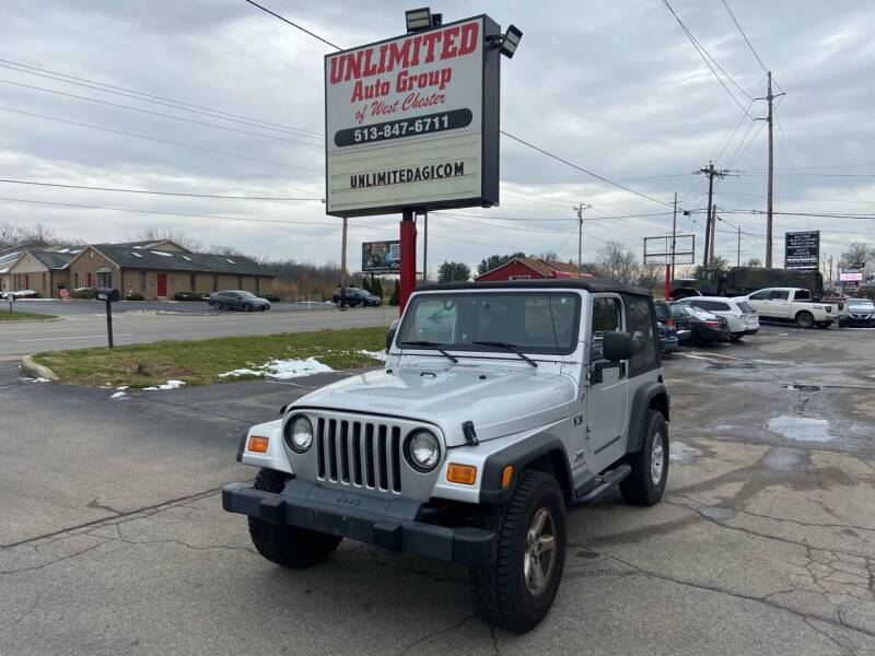 2005 Jeep Wrangler for sale at Unlimited Auto Group in West Chester OH