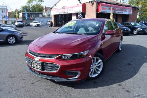 2018 Chevrolet Malibu for sale at Foreign Auto Imports in Irvington NJ