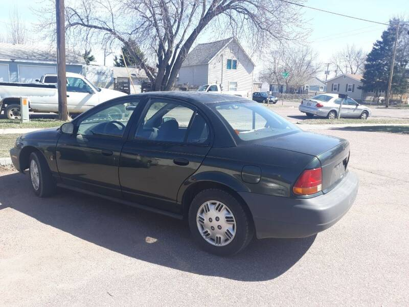1999 Saturn S-Series for sale at ZITTERICH AUTO SALE'S in Sioux Falls SD