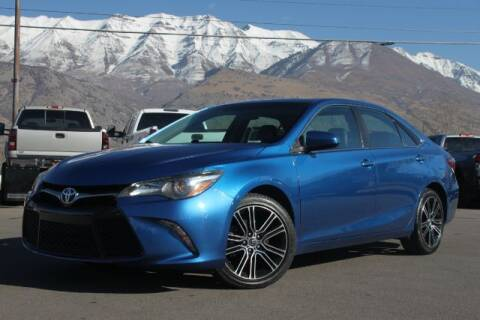 2016 Toyota Camry for sale at REVOLUTIONARY AUTO in Lindon UT