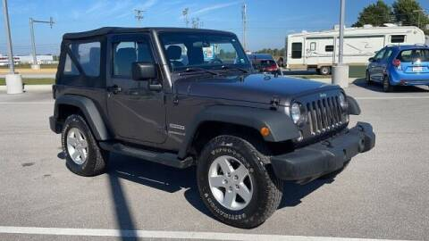 2014 Jeep Wrangler for sale at Napleton Autowerks in Springfield MO