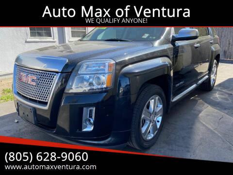 2015 GMC Terrain for sale at Auto Max of Ventura - Automax 3 in Ventura CA