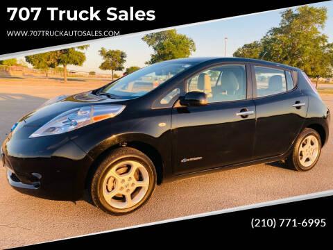 2011 Nissan LEAF for sale at 707 Truck Sales in San Antonio TX