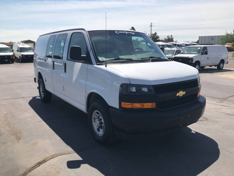 2019 Chevrolet Express Cargo for sale at CARGO VAN GO.COM in Shakopee MN