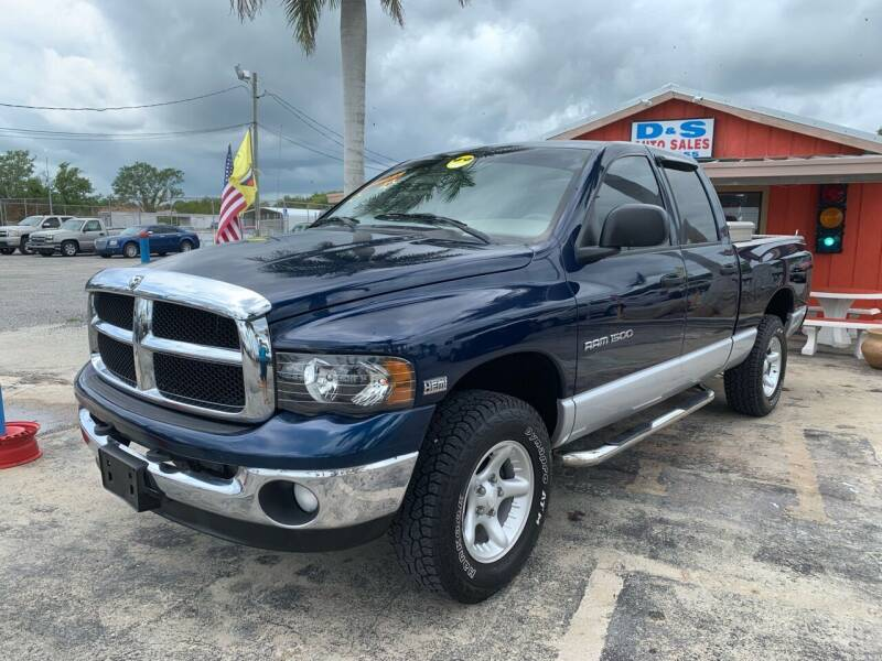 2004 Dodge Ram Pickup 1500 for sale at D&S Auto Sales, Inc in Melbourne FL