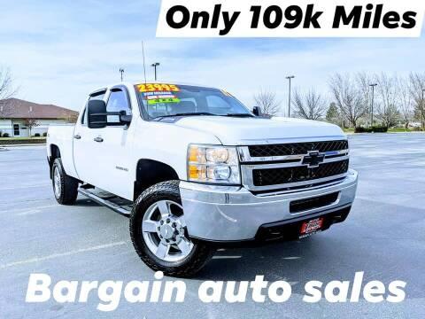 2011 Chevrolet Silverado 2500HD for sale at Bargain Auto Sales LLC in Garden City ID