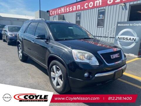 2012 GMC Acadia for sale at COYLE GM - COYLE NISSAN - New Inventory in Clarksville IN