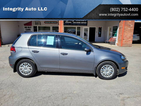 2012 Volkswagen Golf for sale at Integrity Auto LLC - Integrity Auto 2.0 in St. Albans VT