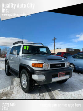 2007 Toyota FJ Cruiser for sale at Quality Auto City Inc. in Laramie WY