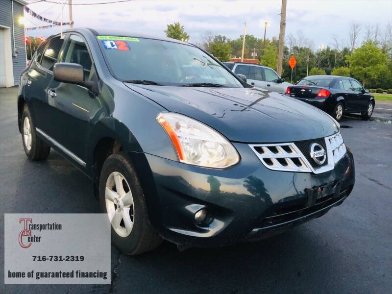 2012 Nissan Rogue for sale at Transportation Center Of Western New York in Niagara Falls NY