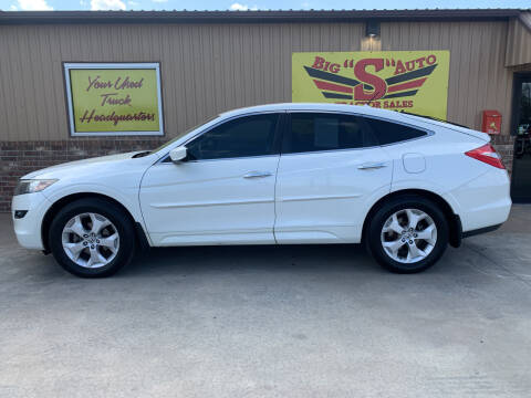 2011 Honda Accord Crosstour for sale at BIG 'S' AUTO & TRACTOR SALES in Blanchard OK
