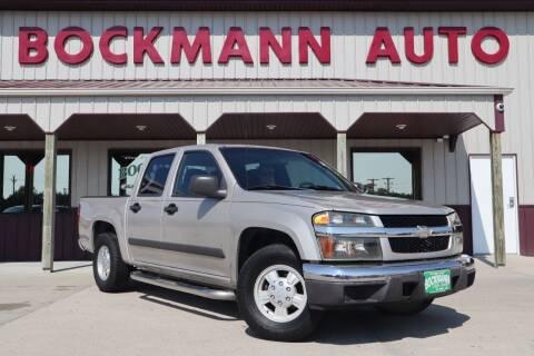2007 Chevrolet Colorado for sale at Bockmann Auto Sales in Saint Paul NE