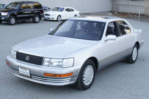 1990 Lexus LS 400 for sale at Sports Plus Motor Group LLC in Sunnyvale CA