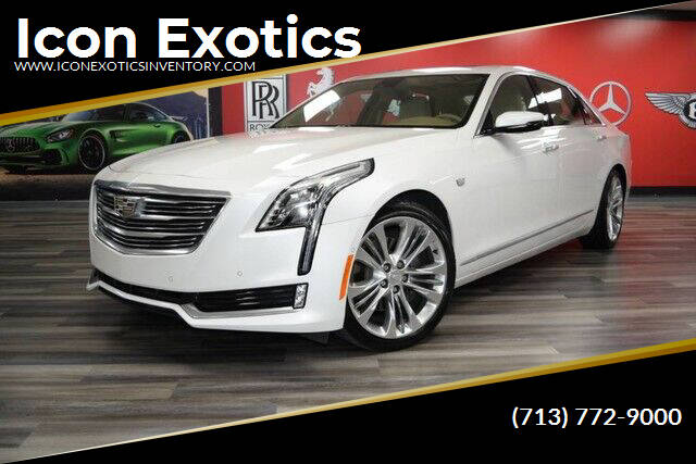 2016 Cadillac CT6 for sale at Icon Exotics in Houston TX