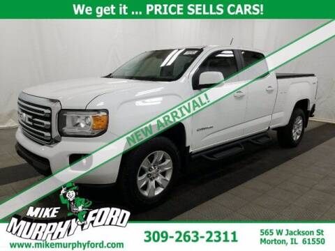 2017 GMC Canyon for sale at Mike Murphy Ford in Morton IL
