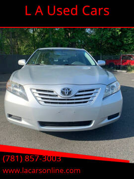 2007 Toyota Camry for sale at L A Used Cars in Abington MA