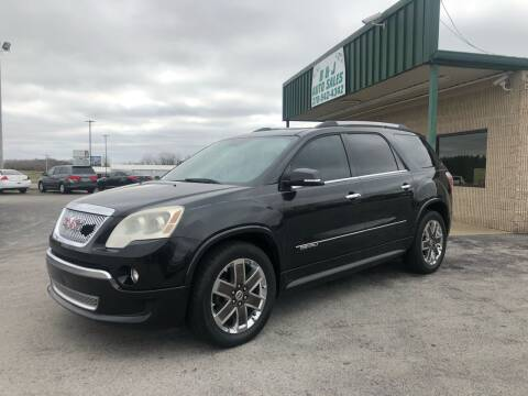 2012 GMC Acadia for sale at B & J Auto Sales in Auburn KY
