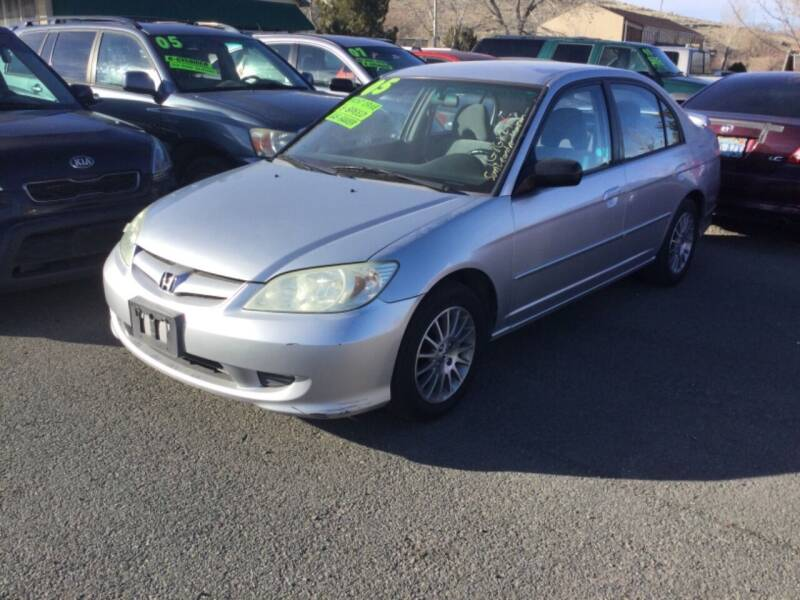 2005 Honda Civic for sale at Small Car Motors in Carson City NV