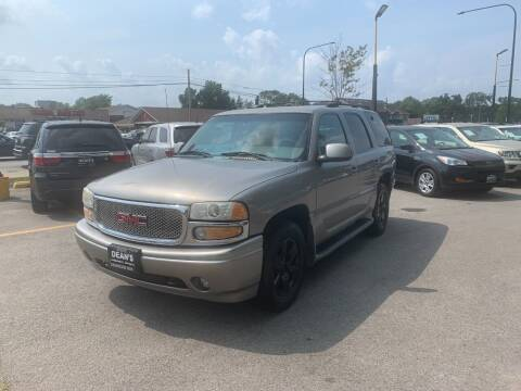 2001 GMC Yukon for sale at DEANSCARS.COM in Bridgeview IL