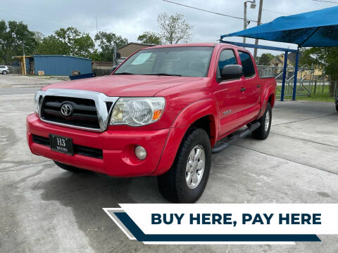 2008 Toyota Tacoma for sale at H3 MOTORS in Dickinson TX