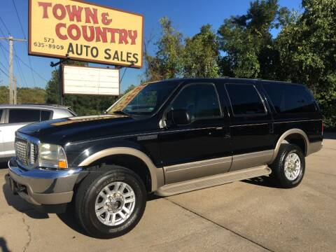 2002 Ford Excursion for sale at Town and Country Auto Sales in Jefferson City MO