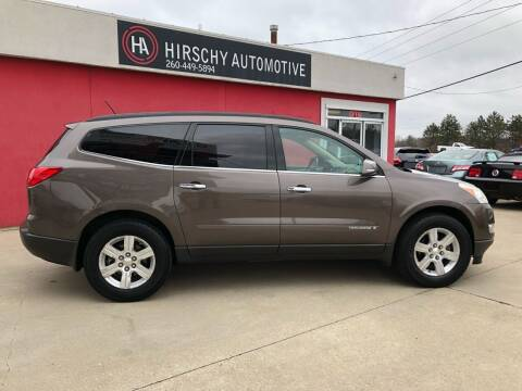 2009 Chevrolet Traverse for sale at Hirschy Automotive in Fort Wayne IN