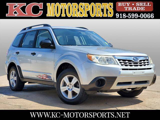 2011 Subaru Forester for sale at KC MOTORSPORTS in Tulsa OK
