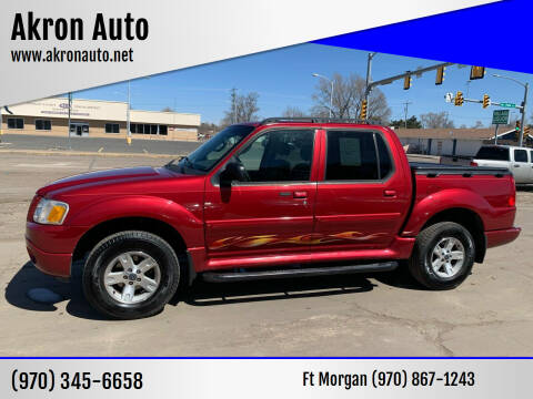 2005 Ford Explorer Sport Trac for sale at Akron Auto - Fort Morgan in Fort Morgan CO