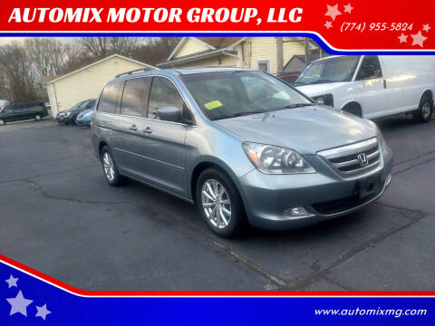 2007 Honda Odyssey for sale at AUTOMIX MOTOR GROUP, LLC in Swansea MA