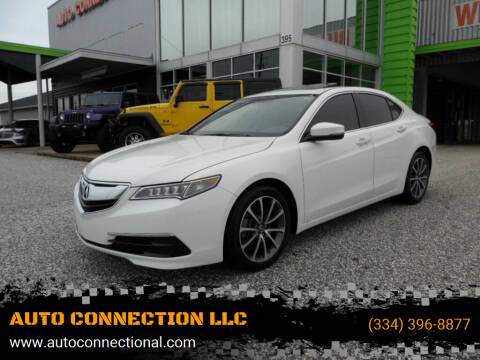 2017 Acura TLX for sale at AUTO CONNECTION LLC in Montgomery AL