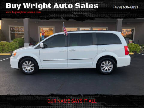 2015 Chrysler Town and Country for sale at Buy Wright Auto Sales in Rogers AR