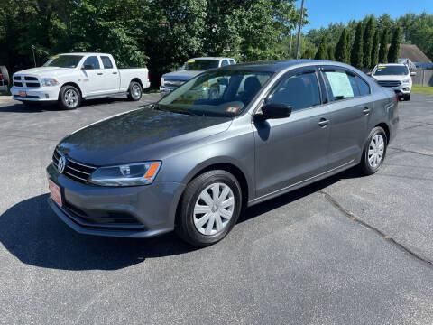 2016 Volkswagen Jetta for sale at Glen's Auto Sales in Fremont NH