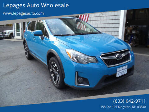 2016 Subaru Crosstrek for sale at Lepages Auto Wholesale in Kingston NH