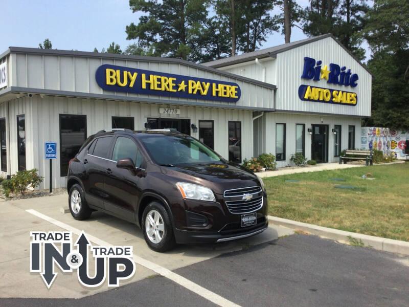 2015 Chevrolet Trax for sale at Bi Rite Auto Sales in Seaford DE
