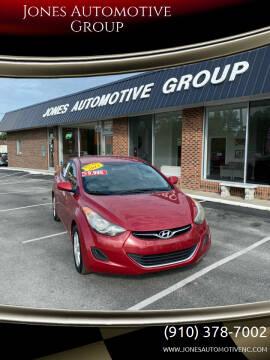 2013 Hyundai Elantra for sale at Jones Automotive Group in Jacksonville NC