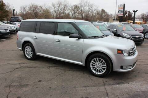 2019 Ford Flex for sale at BANK AUTO SALES in Wayne MI