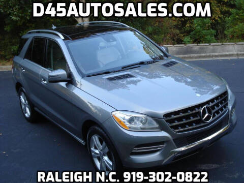 2013 Mercedes-Benz M-Class for sale at D45 Auto Brokers in Raleigh NC