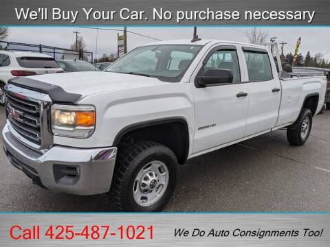 2015 GMC Sierra 2500HD for sale at Platinum Autos in Woodinville WA