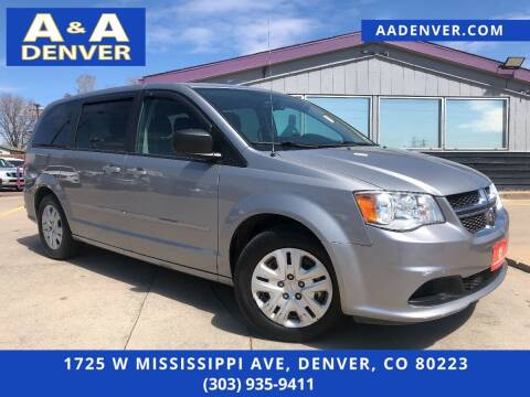 2015 Dodge Grand Caravan for sale at A & A AUTO LLC in Denver CO