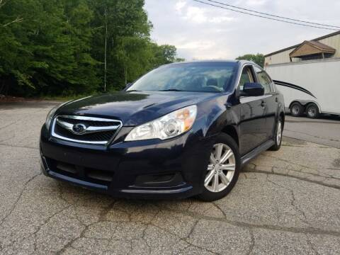 2012 Subaru Legacy for sale at Granite Auto Sales in Spofford NH