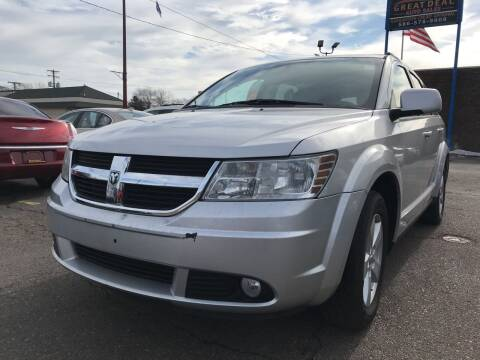 2010 Dodge Journey for sale at GREAT DEAL AUTO SALES in Center Line MI